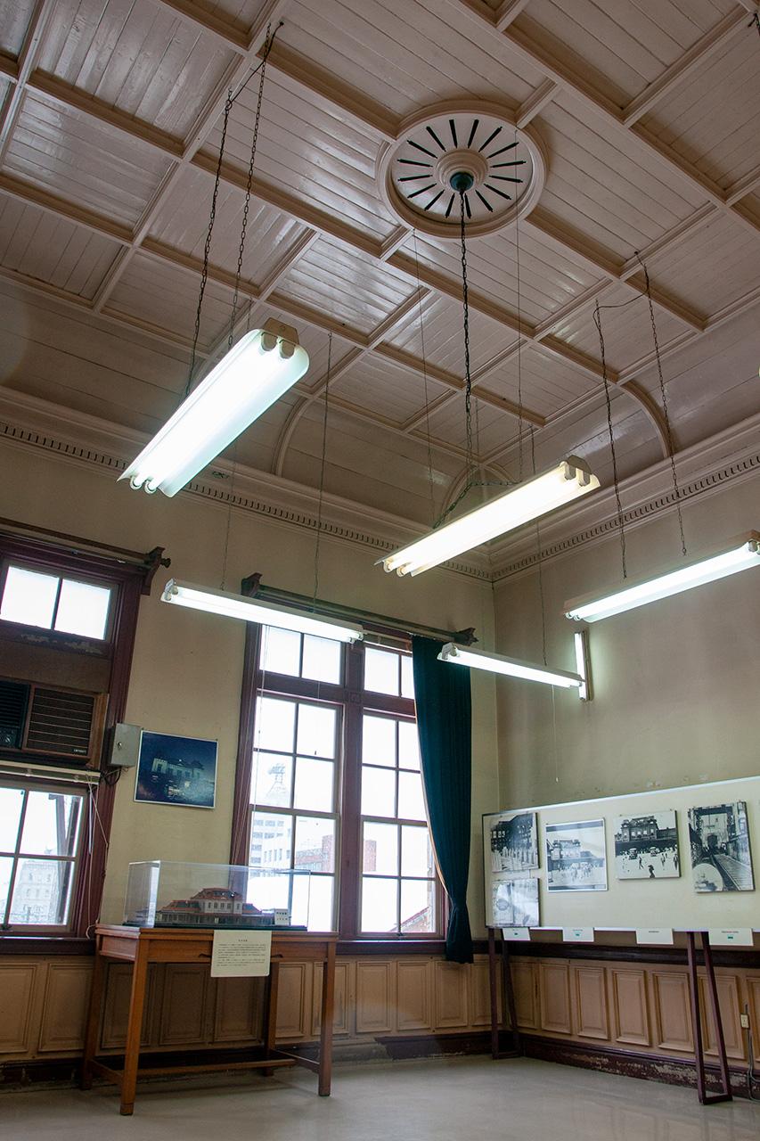 門司港駅2階展示室