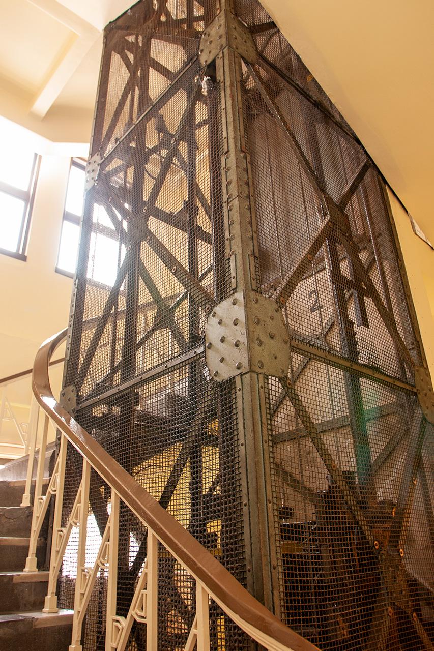 門司郵船ビルのエレベーター