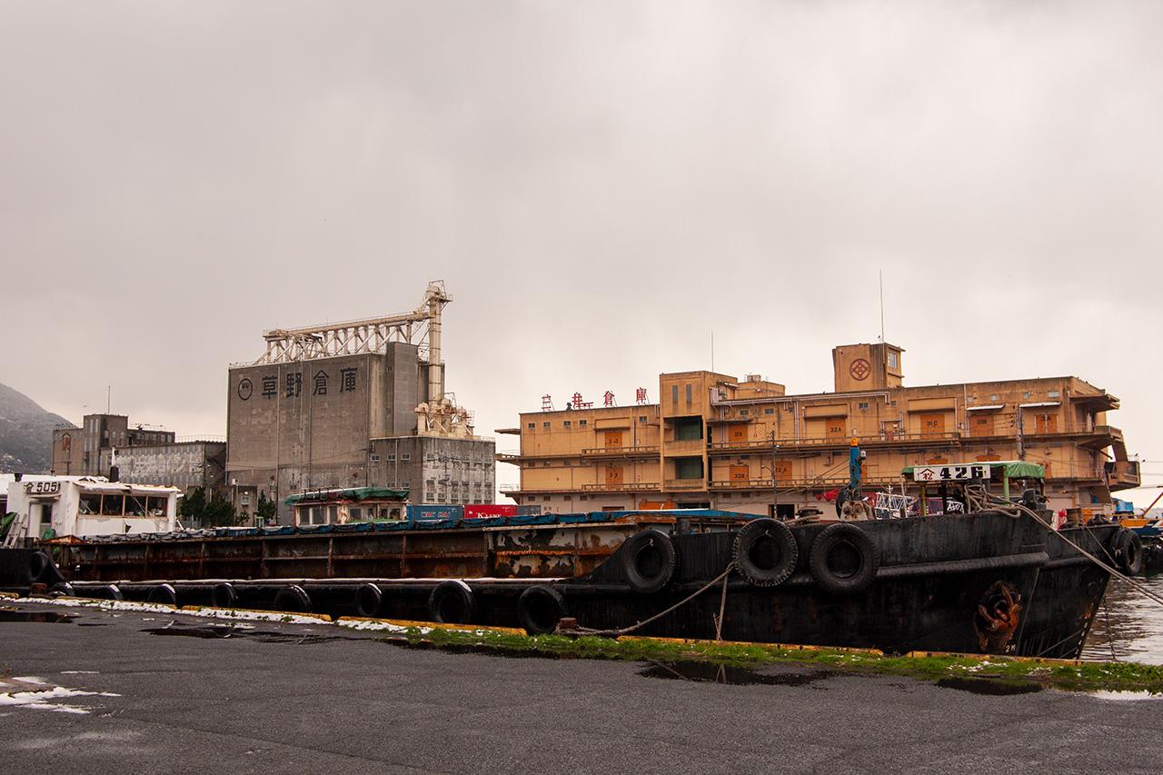 門司港の三井倉庫