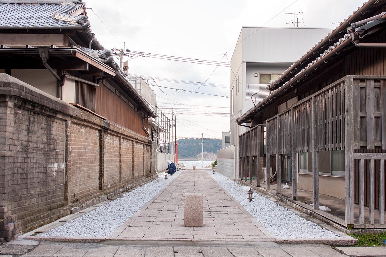 佛願寺の参道
