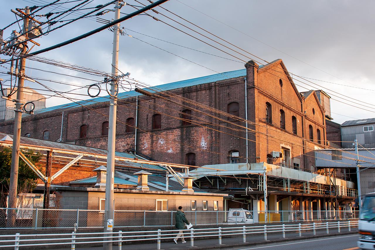 現関門製糖の煉瓦工場群