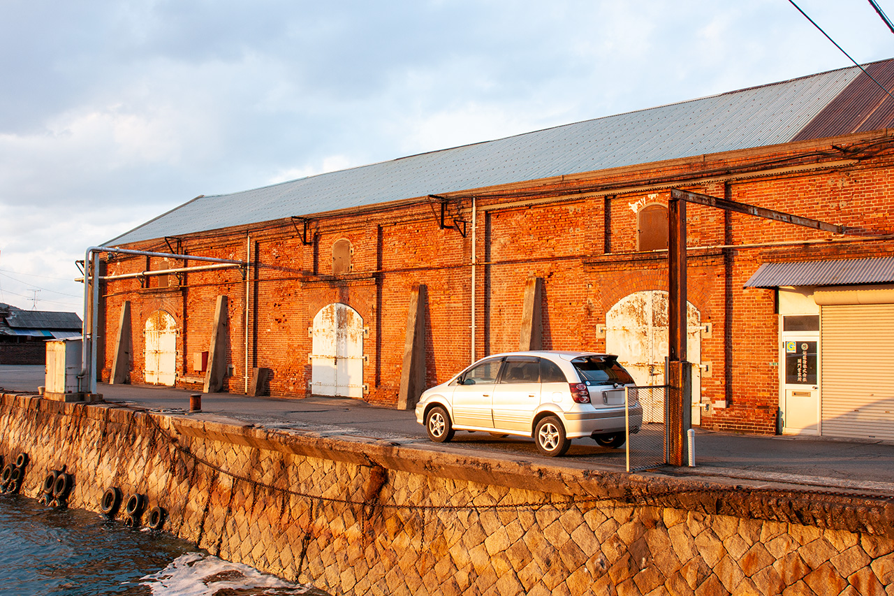関門製糖の倉庫