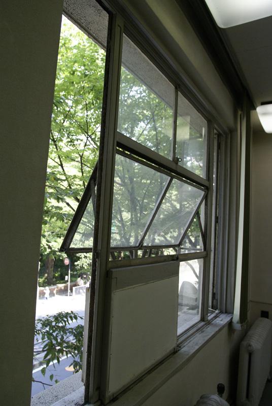 ストロングビルの窓枠