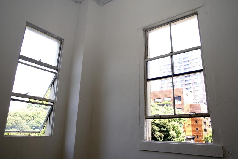 居室の窓枠