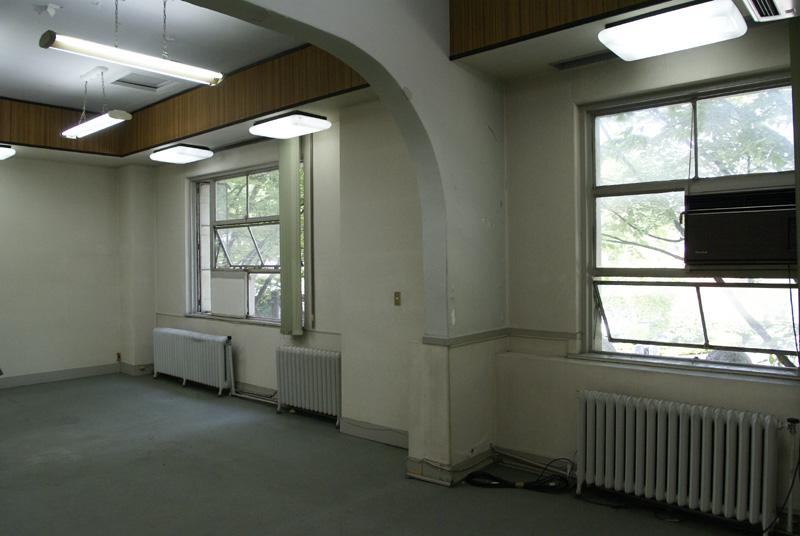 2階のストロング株式会社の入居していた部屋