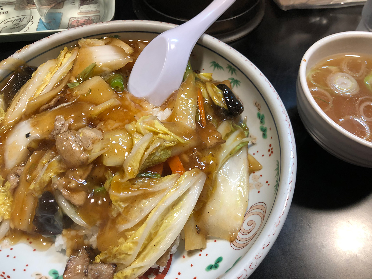 久里浜〈十八番〉の中華丼