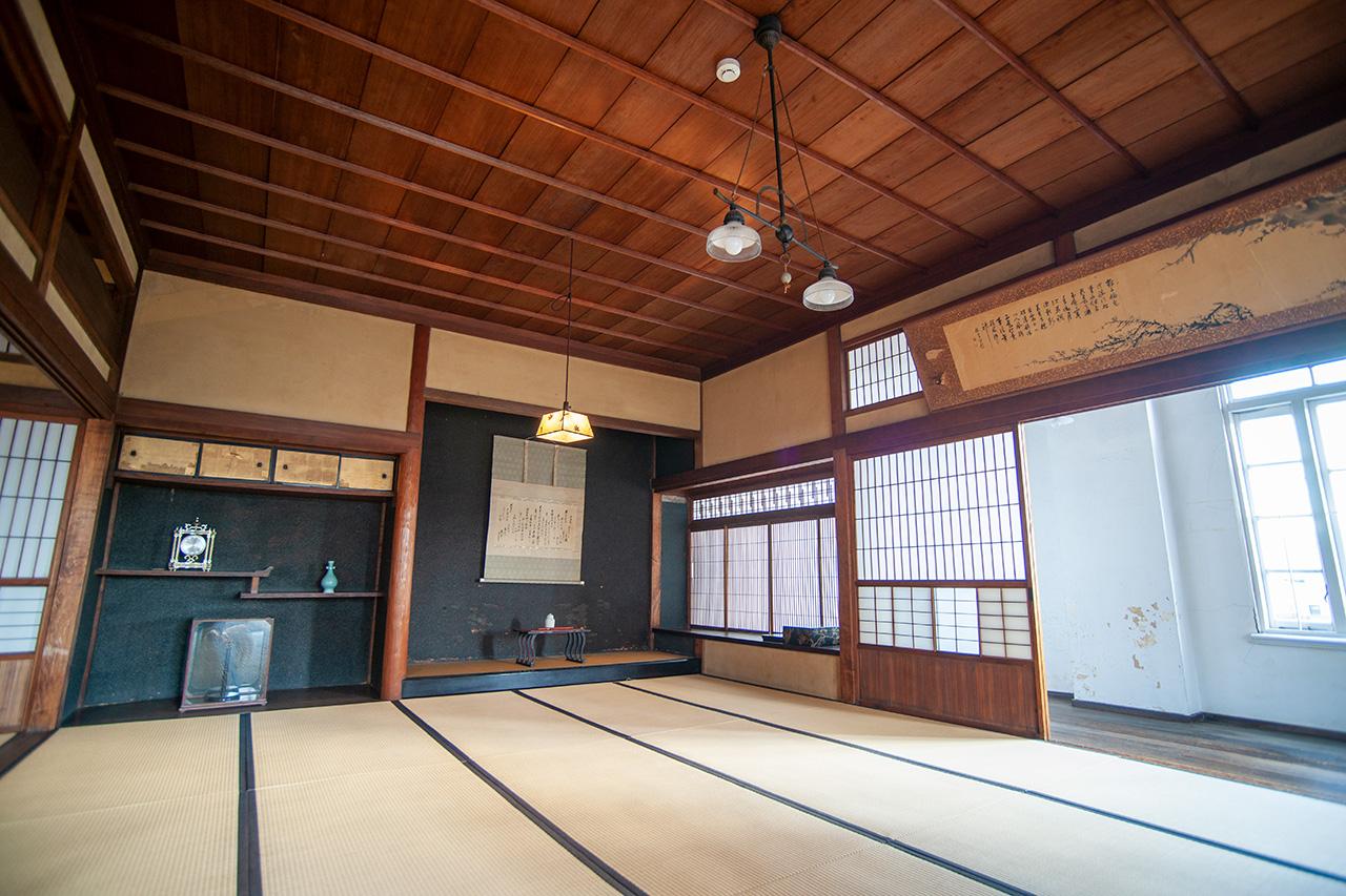 旧秋田商会2階和室