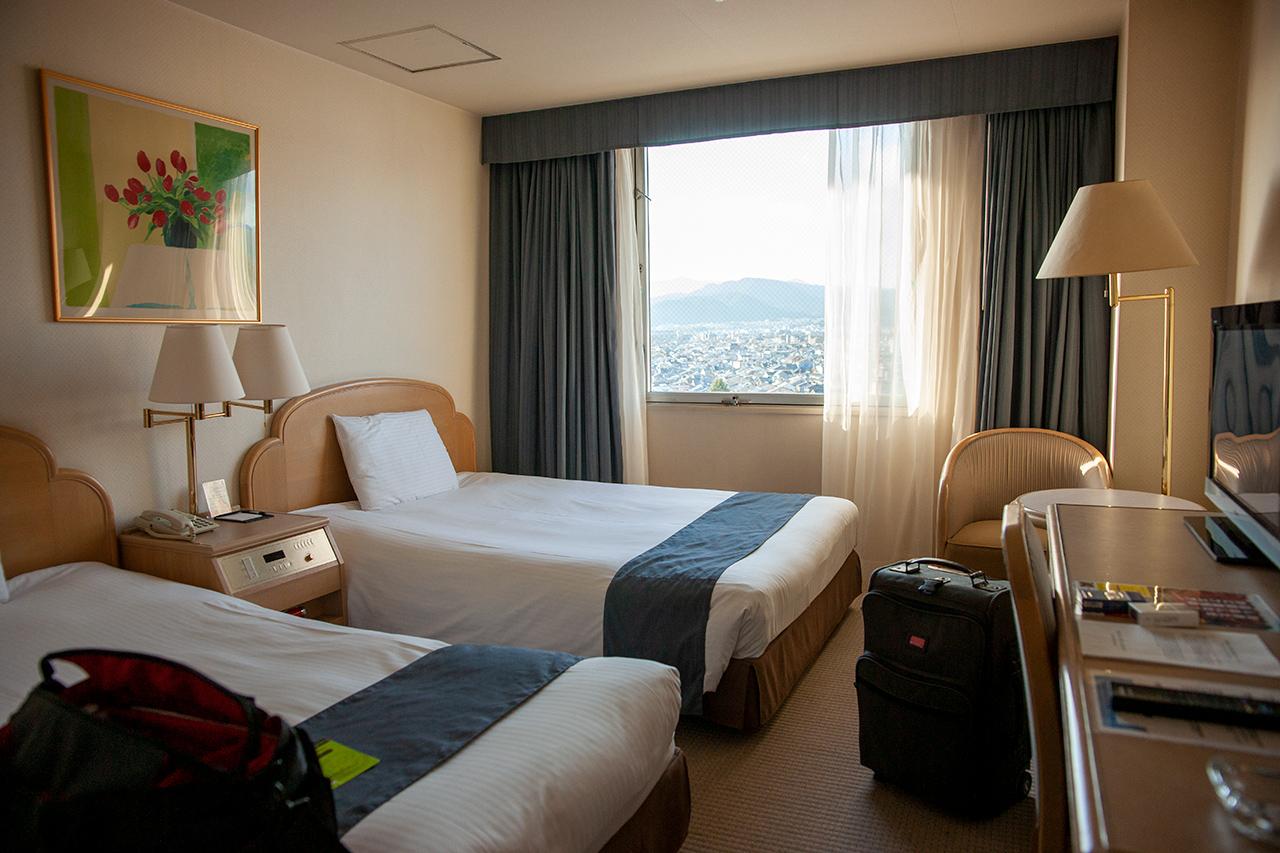 ホテルアバンシェル京都のツインルーム
