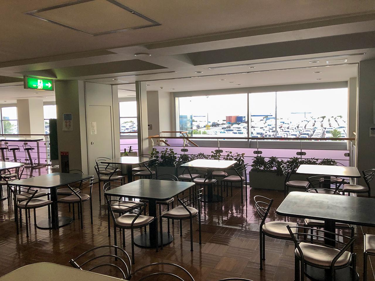 波止場食堂Y-CC店の2階フロア