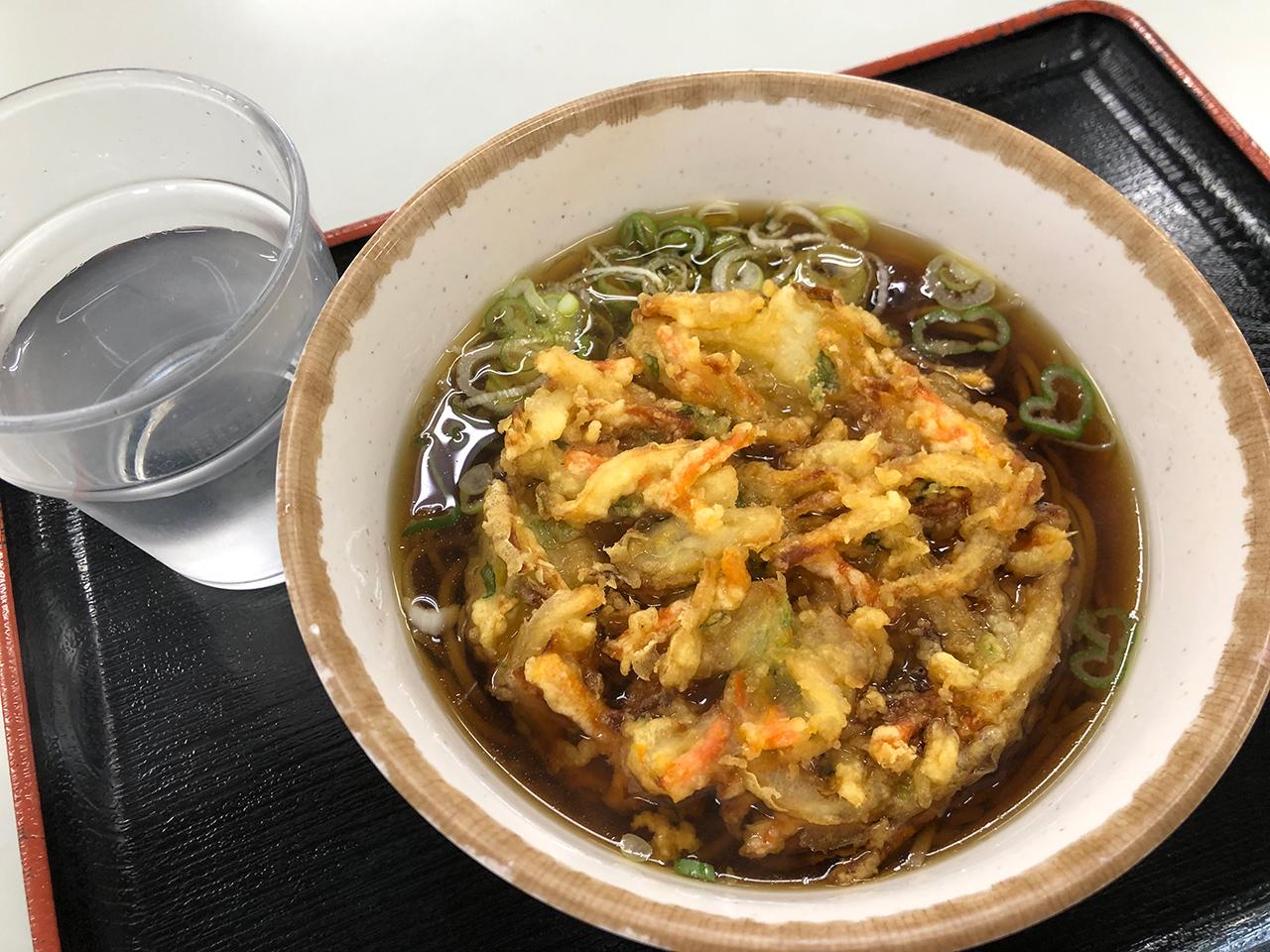 海員生協 東扇島レストランの天ぷらそば