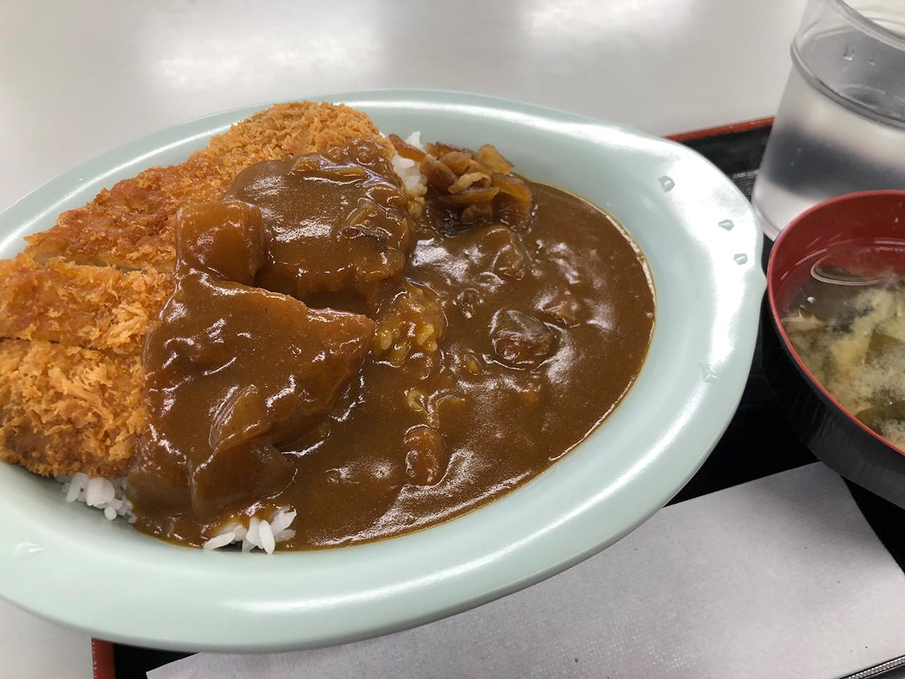 海員生協 東扇島レストランのカツカレー