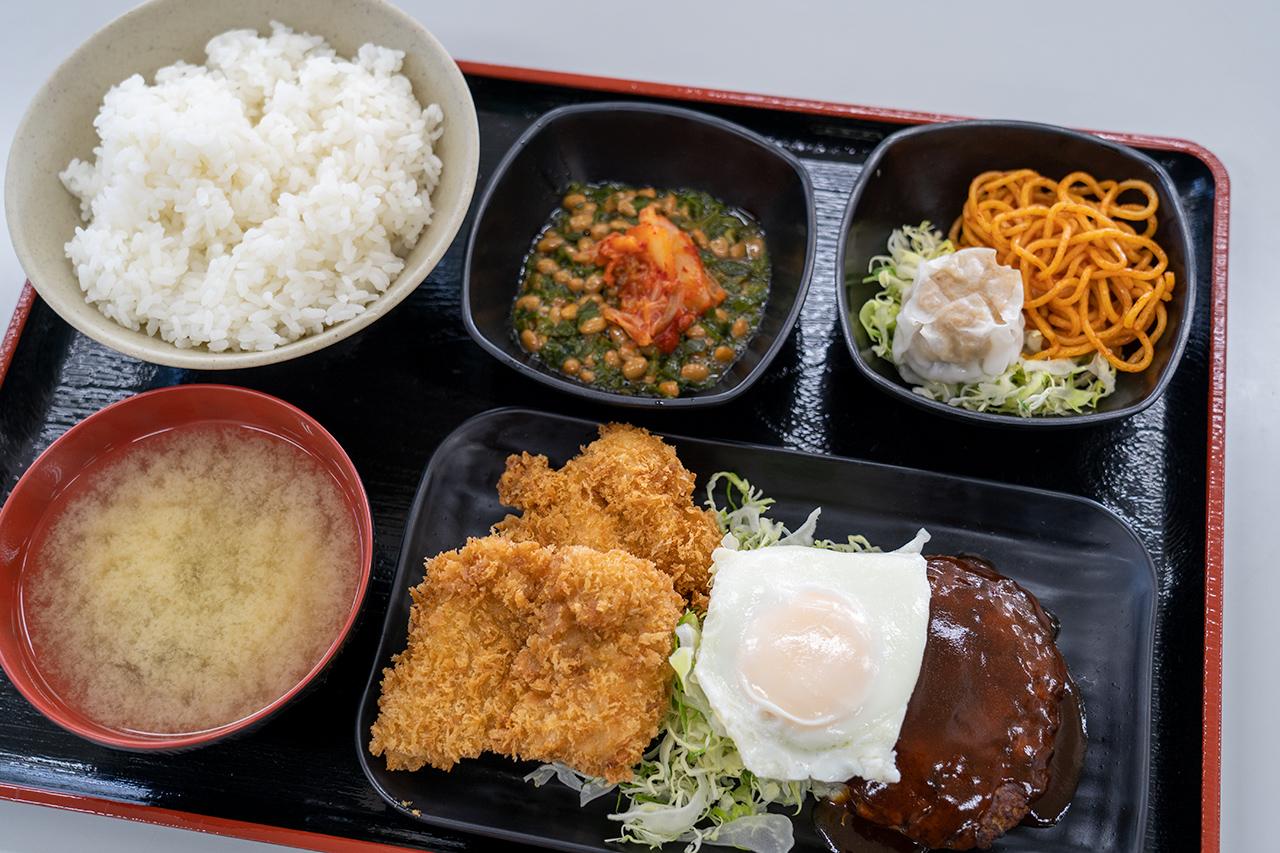 海員生協 東扇島レストランの三品定食
