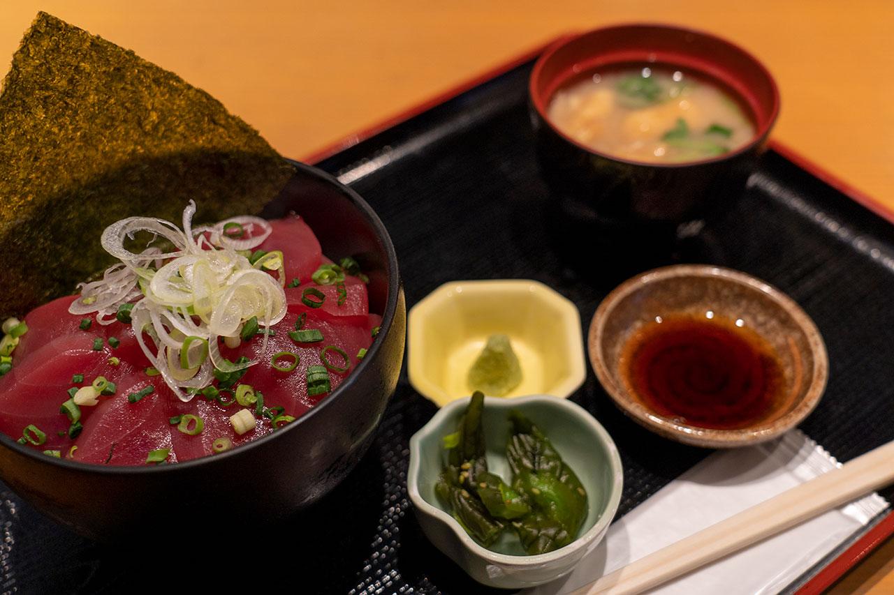 水喜(みずき)のマグロ丼