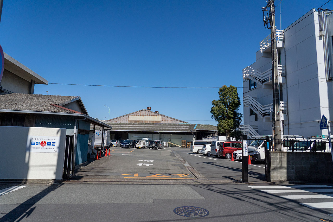 川崎幸市場・西門