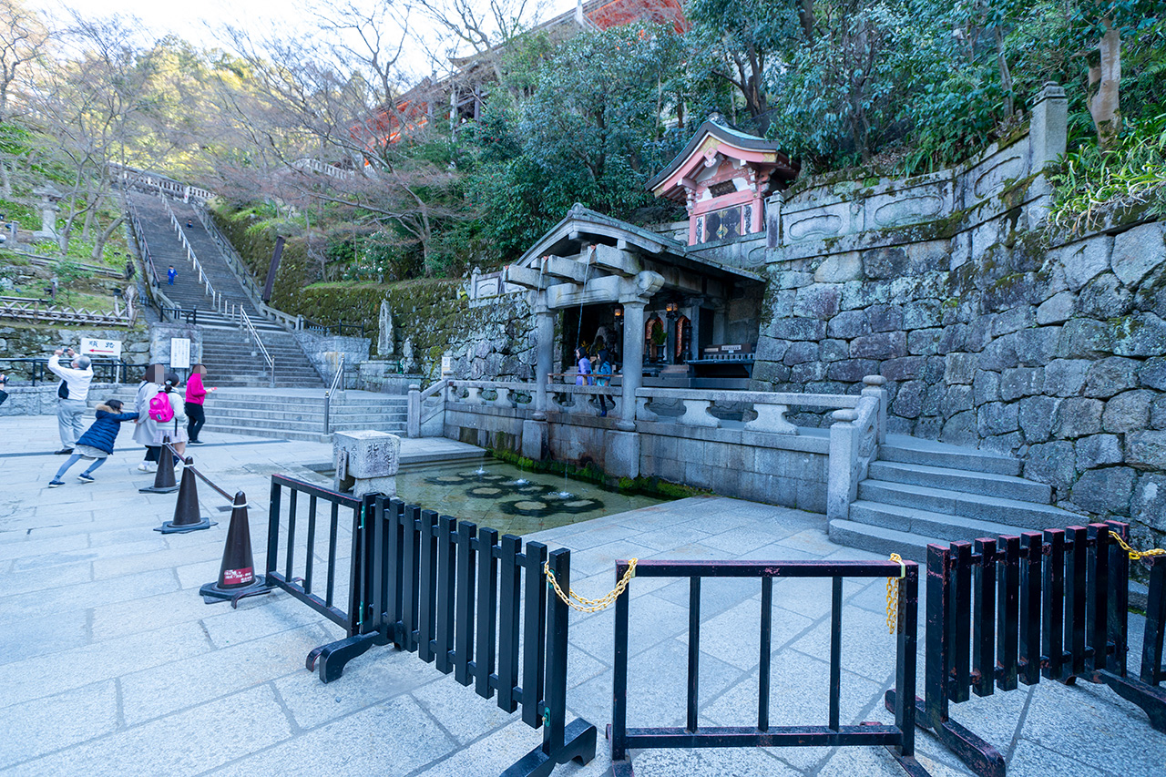 2020年3月、観光客のいない清水寺