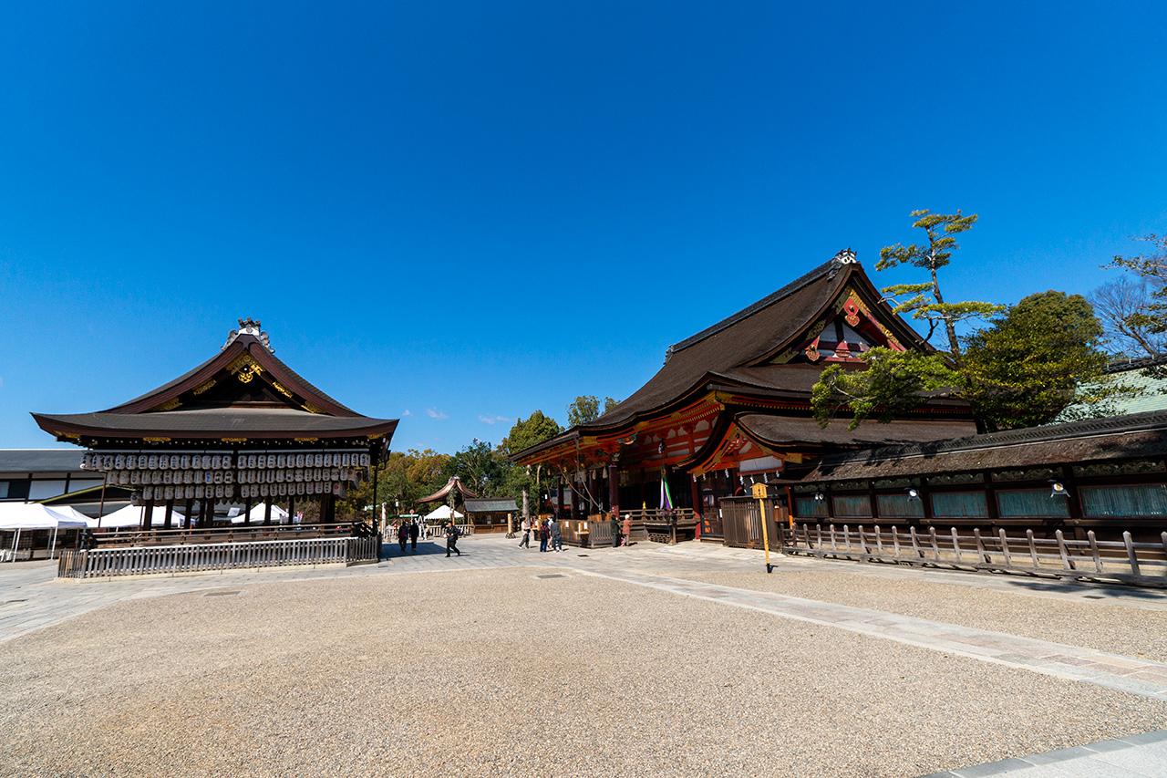 2020年3月23日(月)、観光客のいない八坂神社