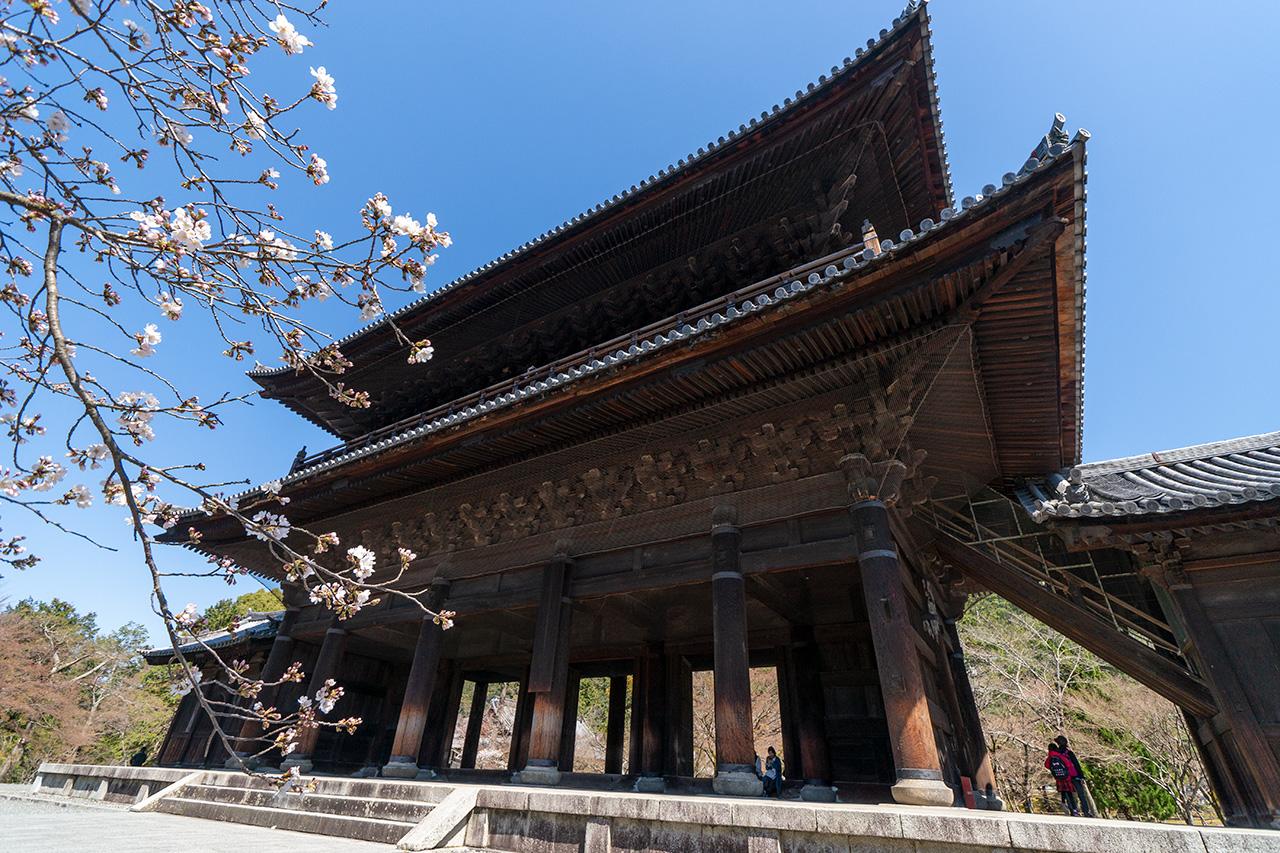 2020年3月23日(月)、観光客のいない南禅寺