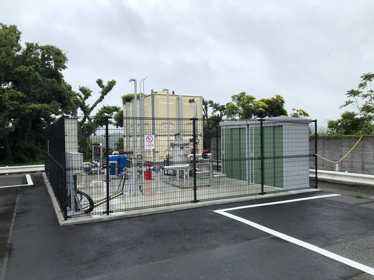 〈油壺温泉〉ホテル京急油壺・観潮荘の温泉揚湯設備