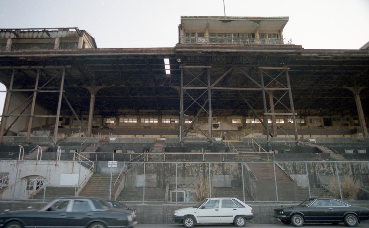 旧根岸競馬場一等観覧席跡