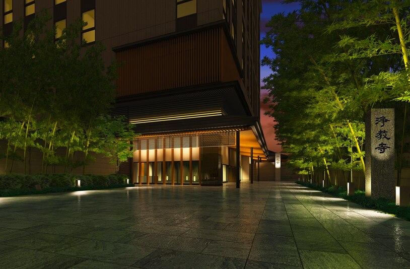 三井ガーデンホテル京都河原町浄教寺イメージCG