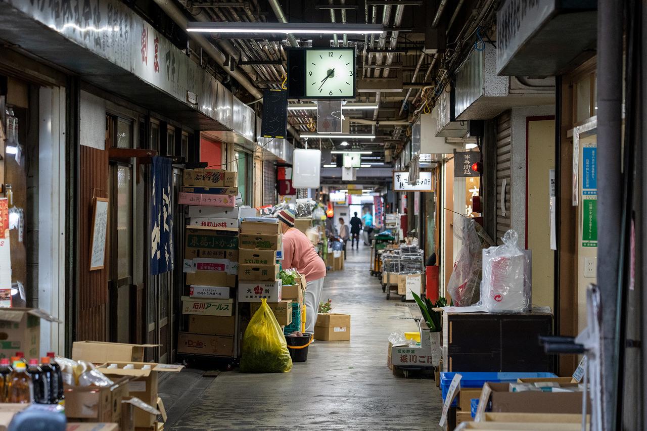 京都市中央市場関連棟