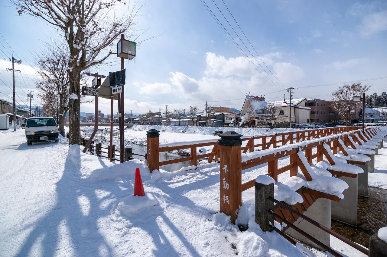 高山市の不動橋