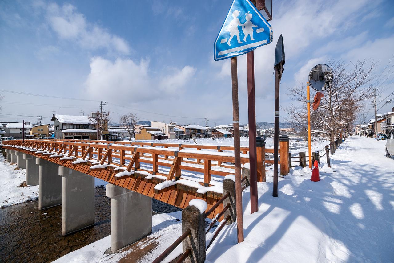 宮川にかかる不動橋