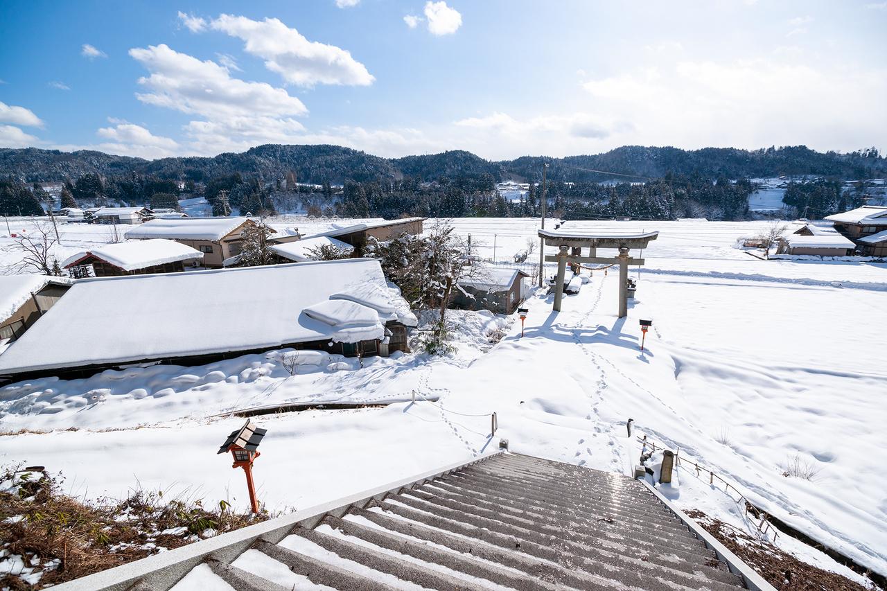 高山市丹生川町の白山神社