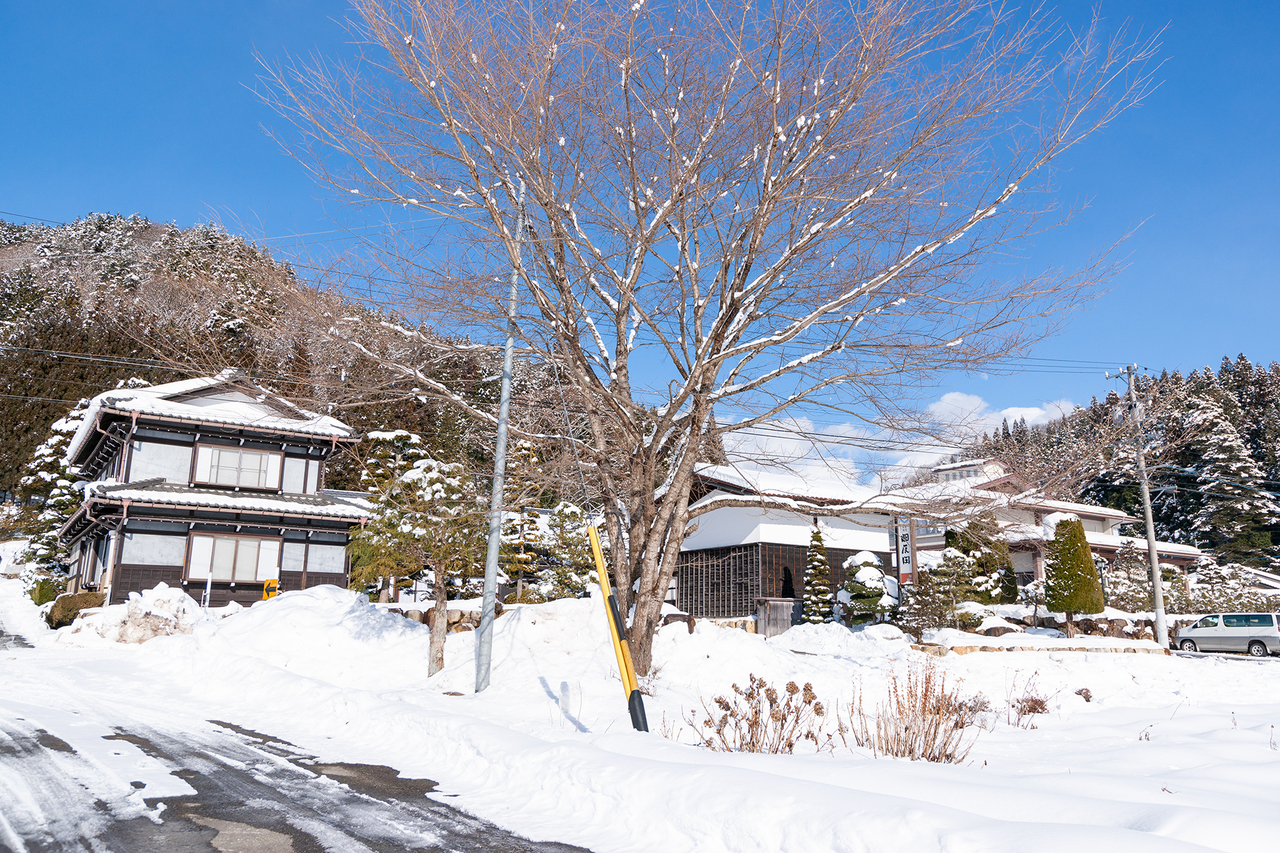 高山市の旅館四反田