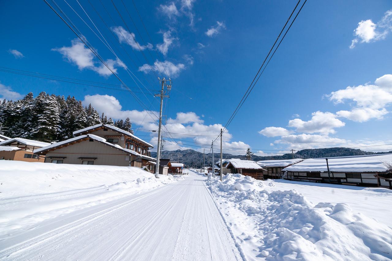 雪景色の丹生川エリア