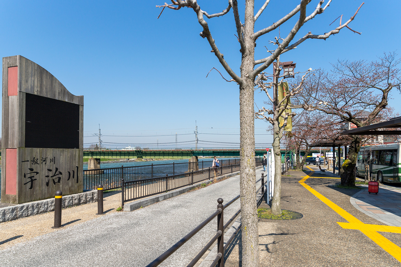 京阪宇治駅ロータリー