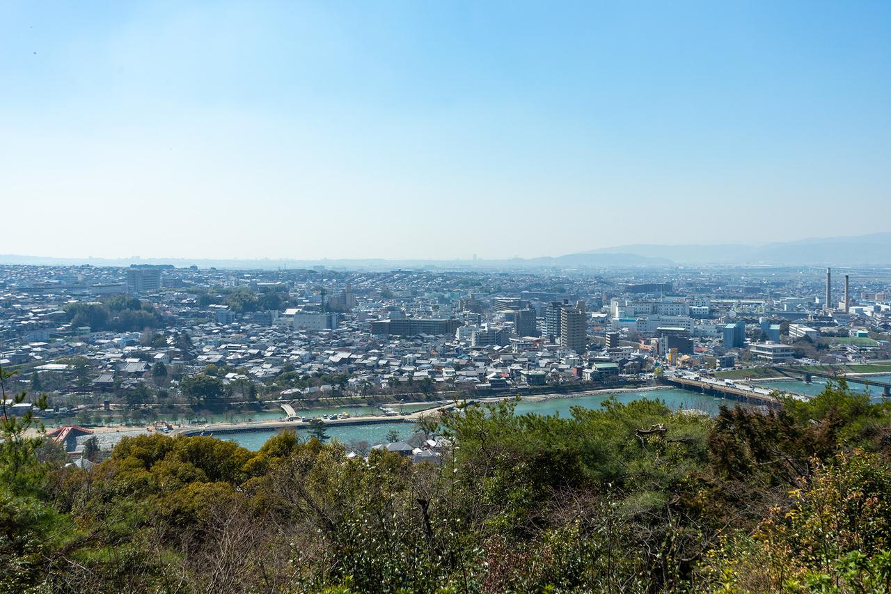 宇治・大吉山からの眺望