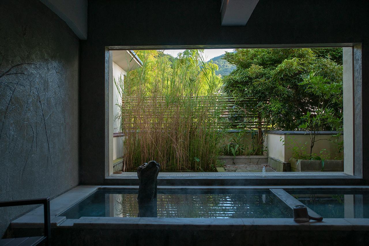 箱根湯本温泉〈養生館はるのひかり〉2階の浴場