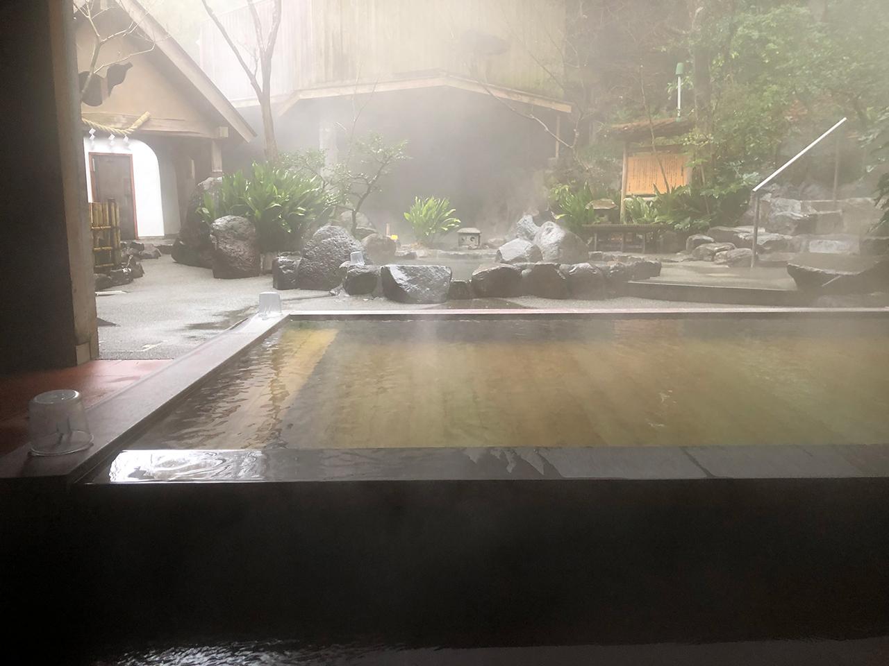 箱根湯本温泉〈天山湯治郷〉の浴場