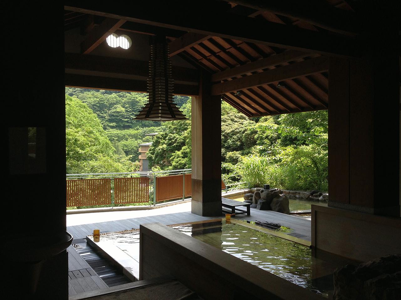 箱根湯本温泉〈天山湯治郷〉に併設される〈かよい湯治一休〉