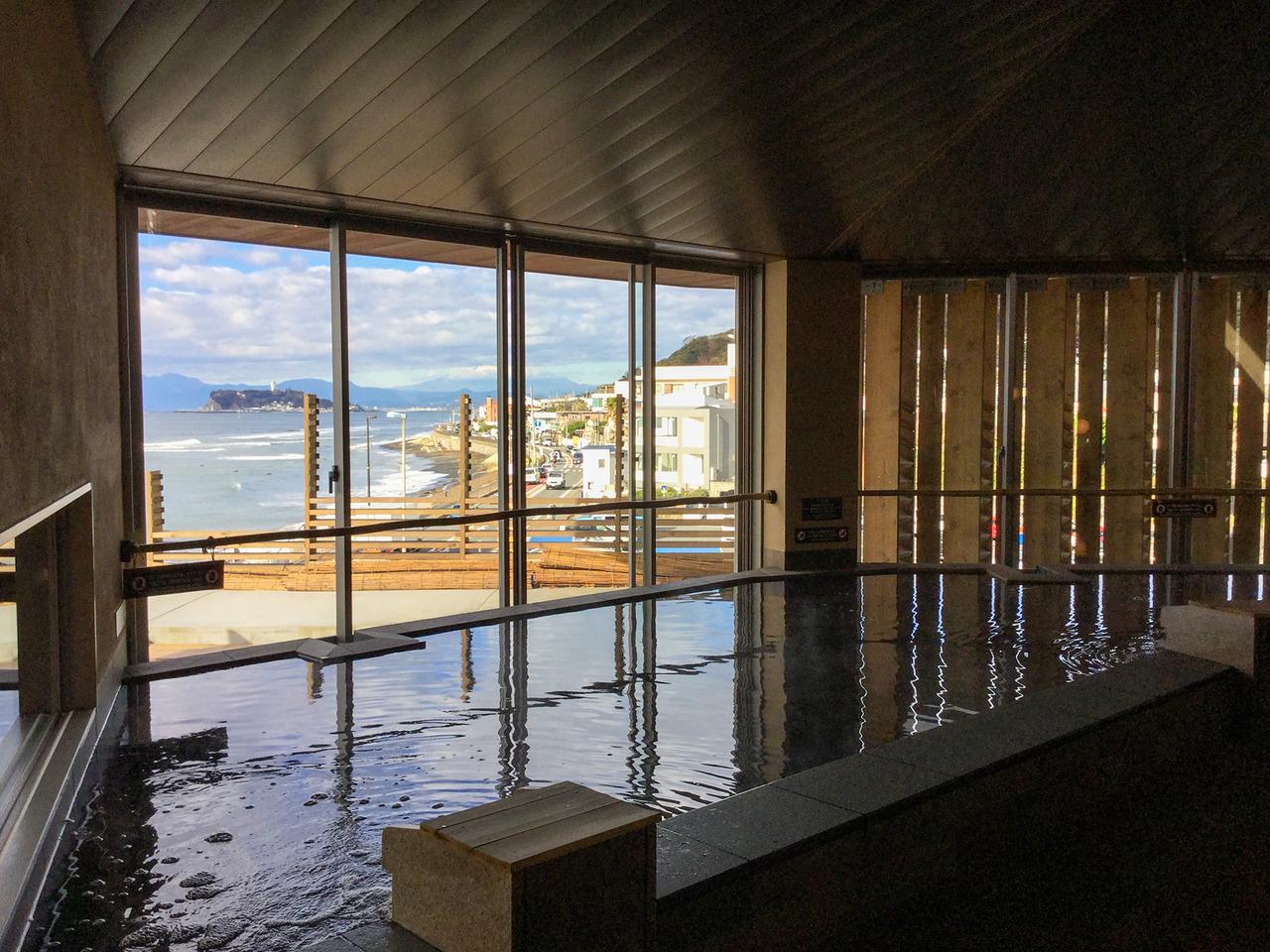 稲村ケ崎温泉「富士見の湯」