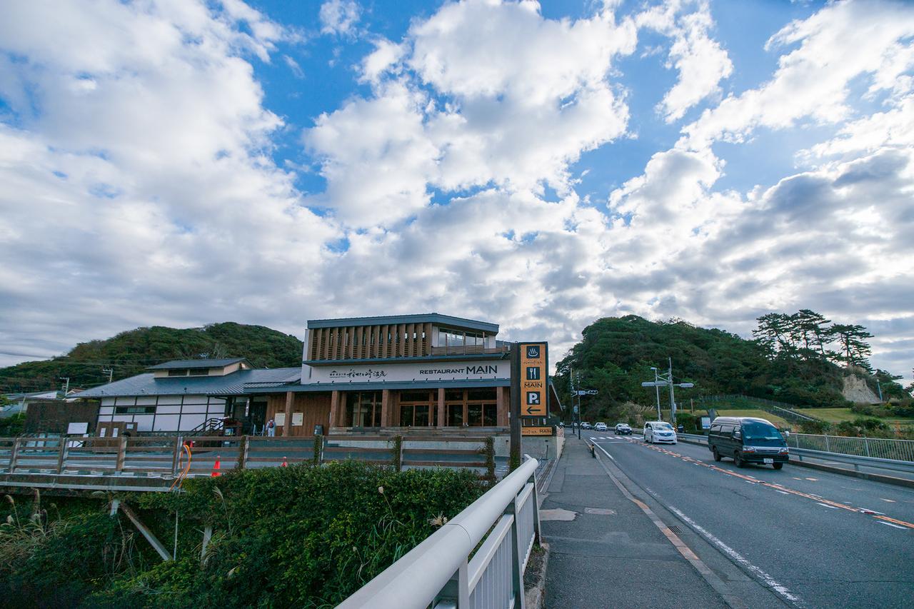 リニューアルオープンした稲村ケ崎温泉とレストランMAIN