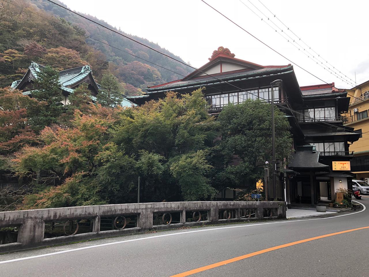 箱根 塔之沢の旅館〈環翠楼〉