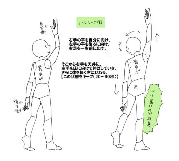 ためしてガッテンの肩こり解消・筋膜ストレッチ(体操)のやり方