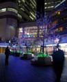 11/21 青い夜景(於 横浜Queen's Square)