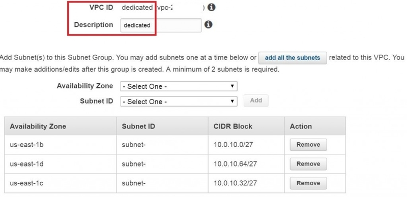 dedicated_subnet_group