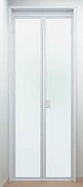 浴室扉:折れ戸