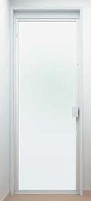 浴室扉:開き戸