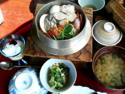 新潟で食った釜飯