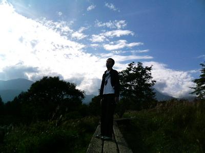 八ヶ岳と僕
