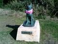 沖縄の離島の像