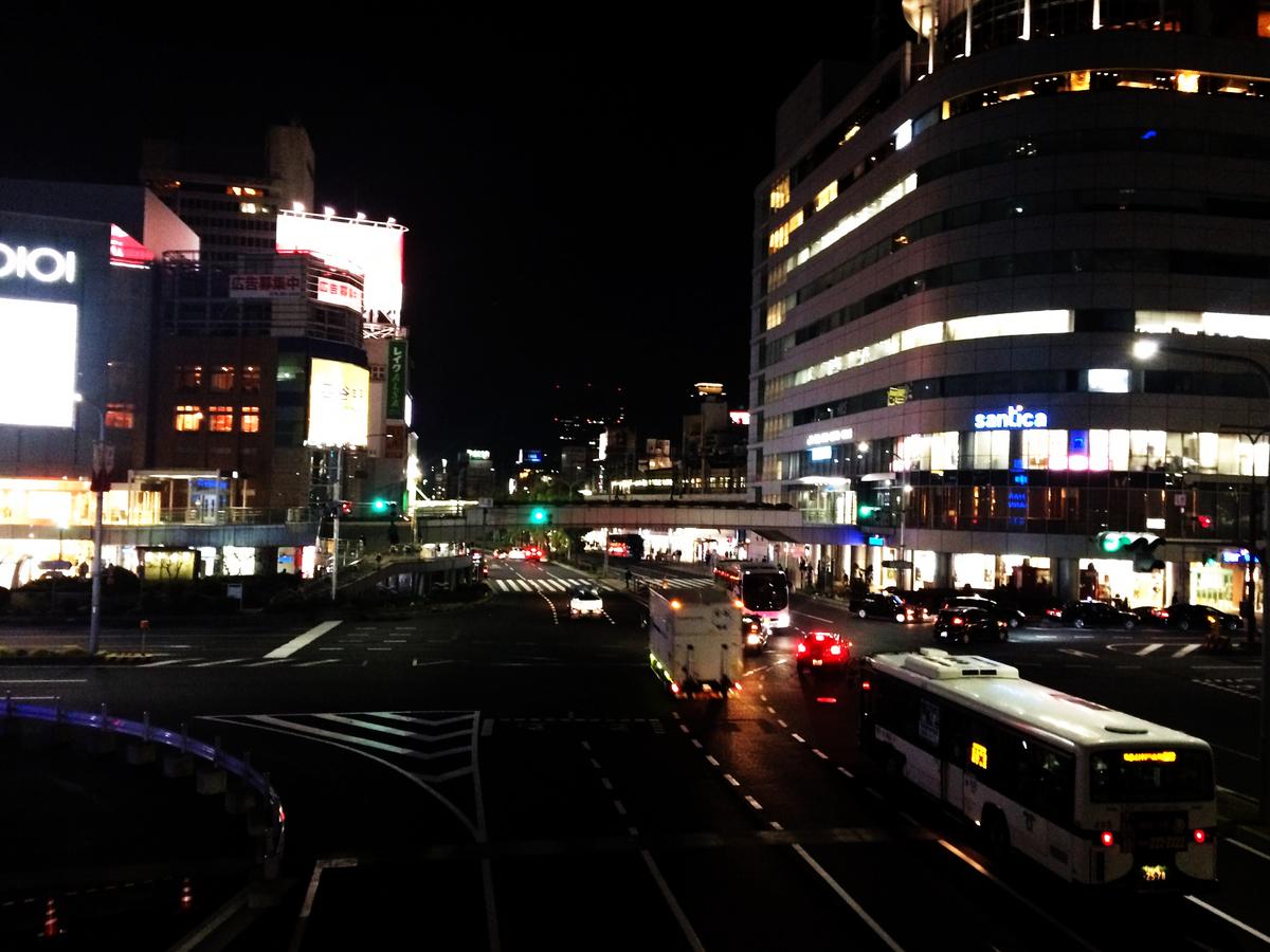 2020年3月の三ノ宮駅
