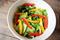 レタスとパプリカのサラダ・レシピ