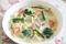 冷凍野菜と鶏むね肉の豆乳シチューのレシピ