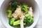 ブロッコリーとエリンギのゴマみそ和えのレシピ